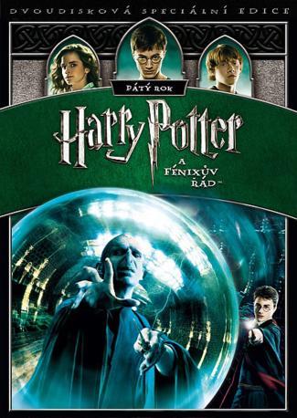 Harry Potter a Fénixuv rád DVD (SK)