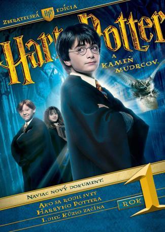 Harry Potter a kámen mudrcu DVD (SK)